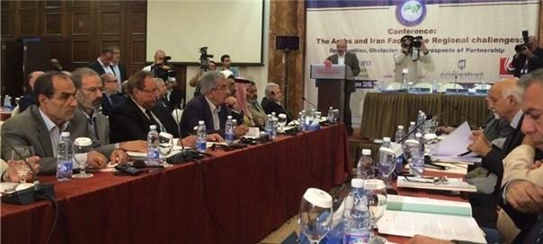 همایش بررسی فرصتهای همکاری اعراب و ایران برای مقابله با چالشهای منطقهای