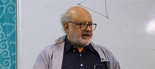 سخنرانی دکتر اعتماد با عنوان «ناتورالیسم در معرفت شناسی»