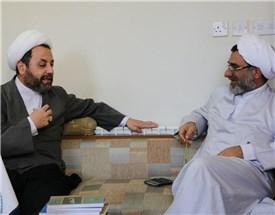 دیدار حجت الاسلام دکتر أیمن المصری رئیس آکادمی حکمت عقلی با جناب آقای دکتر خسروپناه