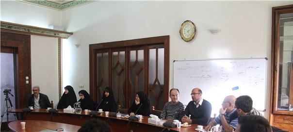 مراسم هفته پژوهش ویژه دانشجویان مقطع دکتری مؤسسه پژوهشی حکمت و فلسفة ایران برگزار شد.